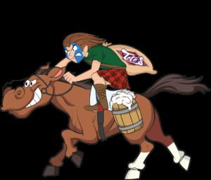 Scozzese a cavallo